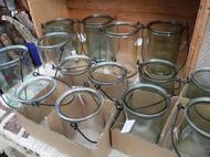 ガラスの容器入荷